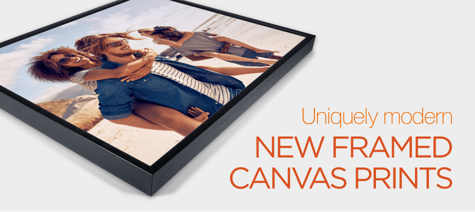 Buy Framed Canvas Prints Online from The Framed Picture Company